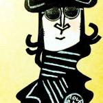 John Lennon ジョンレノンの似顔絵