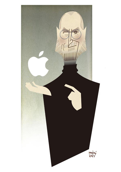 Steven Jobs Portrait