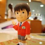 加藤清史郎の粘土人形