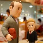 ブルース・ウィリスの粘土人形