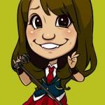 AKB48大島優子のイラスト画像