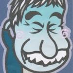蛭子能収の似顔絵イラスト