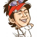 プロゴルファーの石川遼