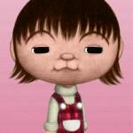 渡辺満里奈 不思議の顔の似顔絵