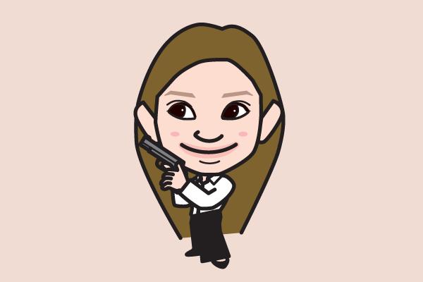 篠原涼子の似顔絵